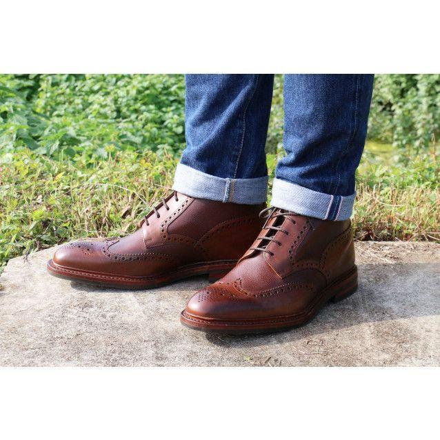 LOAKE - Boots cuir grainé et lisse semelle cousue gomme - Boots - Styles -  Homme
