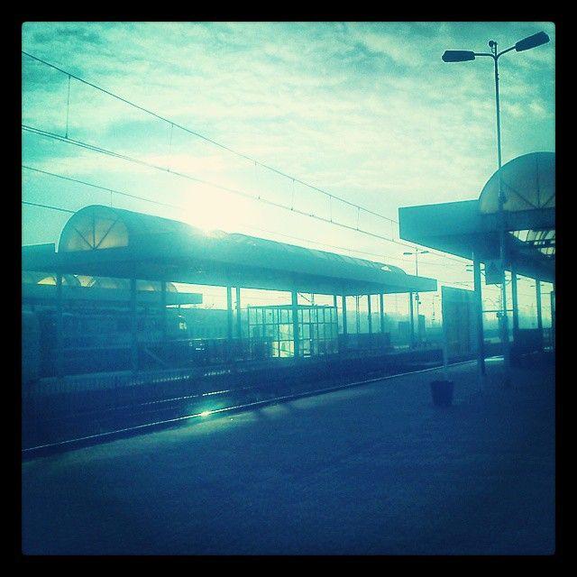 Łódź Kaliska #sunrise #iboatcity #łódź #lodz #poland #postapo