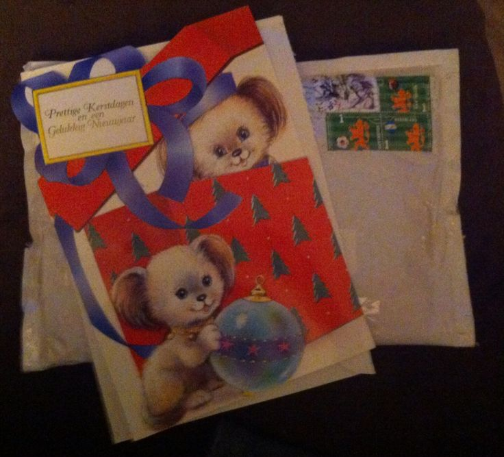 From my Dutch penpal with a gift
