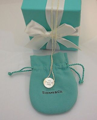 30 best name brand jewelry images on pinterest tiffany sterling tiffany co 1837 concave circle pendant in sterling silver 16 necklace 925 audiocablefo Light gallery