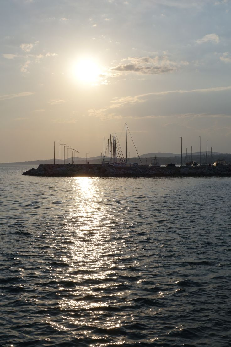 The port #Nikiti #Sithonia #Halkidiki #Greece