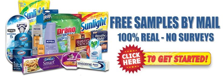 Get 100% Real FREE Samples No Strings Attached! It's all REALLY FREE!