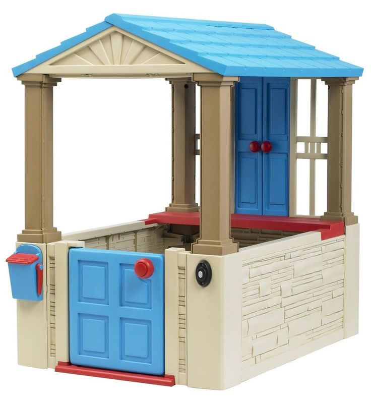 Kids Playhouse Outdoor Toy Play Cottage Plastic Children Play House Toys  | Toys & Hobbies, Outdoor Toys & Structures, Tents, Tunnels & Playhuts | eBay!