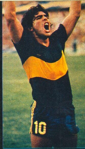 Boca Juniors 1981 - Maradona