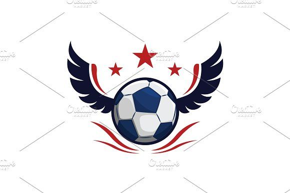 Football Wing Star Logo Design Star Logo Design Logo Design