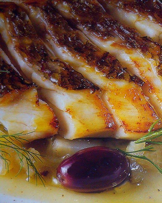 Ricette e Segreti in Cucina : Filetti di dentice al forno con olive taggiasche e...