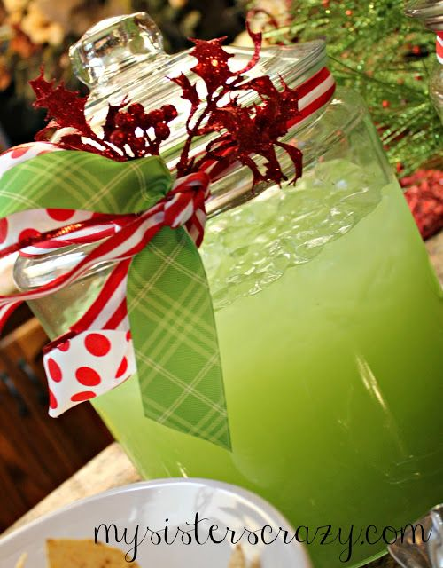 My Sister's Crazy!: Christmas Eve Punch made with orange juice is also excellent!!