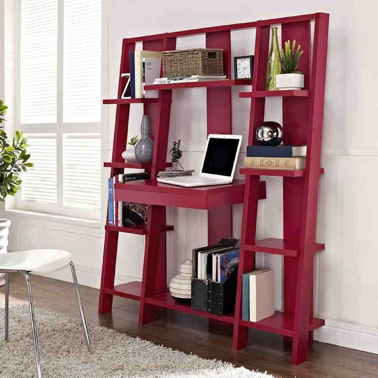Candice Bookcase With Desk