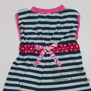 Nautical Dress Free Pattern