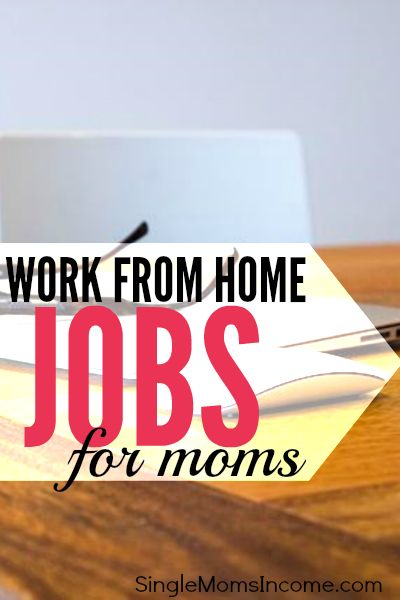 I've been working from home for a little over two years. I know how it hard it can be to get started so I've compiled some work from home jobs for moms.