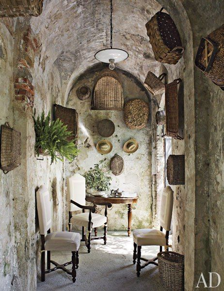 A 17th-Century Family Villa in Tuscany : Interiors + Inspiration : Architectural Digest
