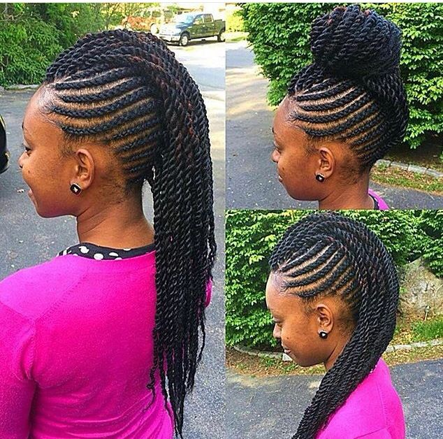 19 best Braids for thin edges images on Pinterest | Flat ...