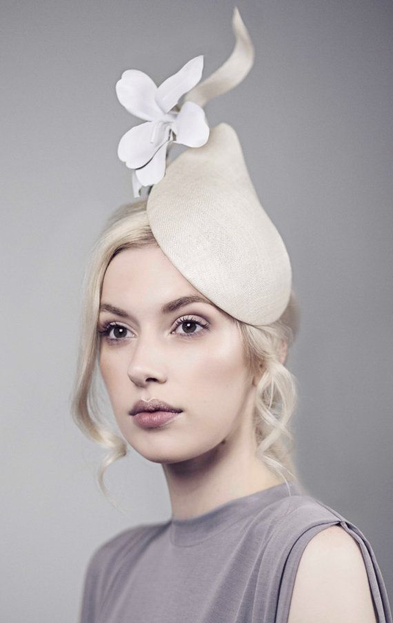 Races Hat Perch Hat Royal Ascot Ladies Day or by MaggieMowbrayHats