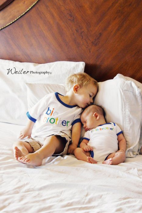 @Annie Compean Compean Livengood Wahls  thought this was so cute! Big brother, little brother