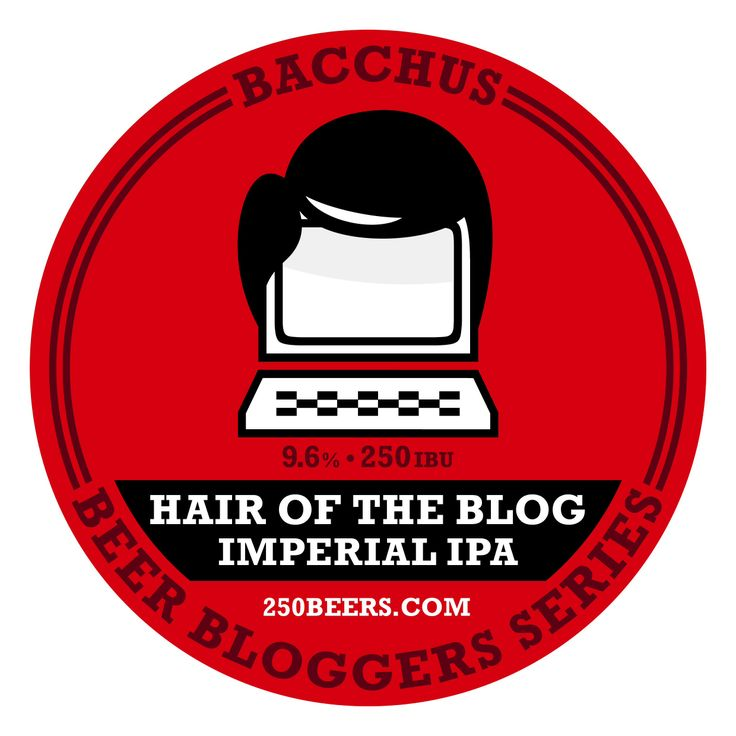 Tap decal for my collaborative brew with Bacchus - part of the #bacchusbeerbloggersseries