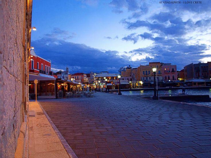 Old Port, Chania, Crete.