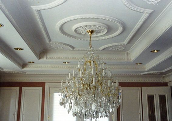 Awesome Ceiling Decoration #3 Ceiling Medallion Decorating Ideas
