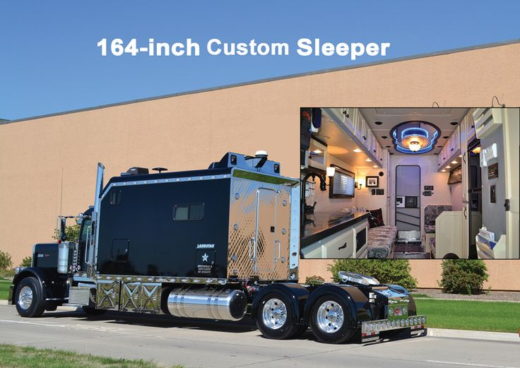 56 best big interior truck sleeper images on pinterest | semi