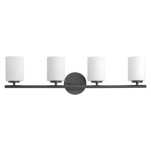 Modern Bathroom Light Black Replay by Progress Lighting | P2160-31 | Destination Lighting