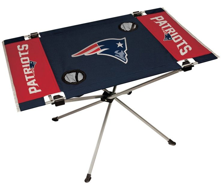 Patriots NFL Table Endzone Style Table - Rawlings