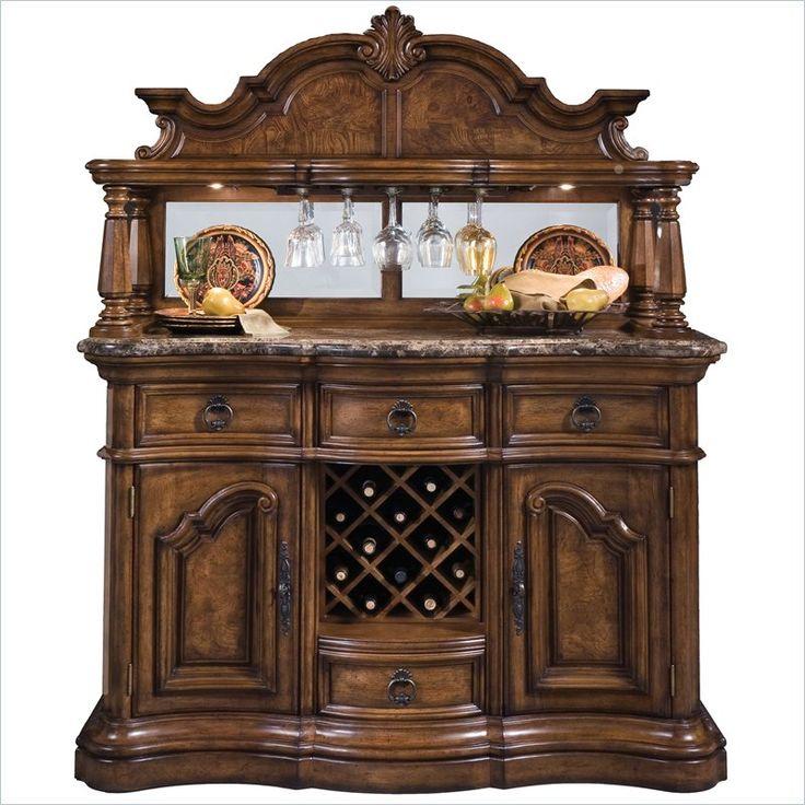 New Pulaski Jensen Bar Cabinet