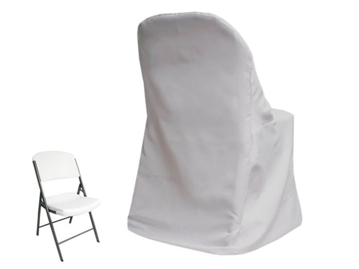 Folding chair covers Wedding parties and Chair covers wholesale on Pinterest
