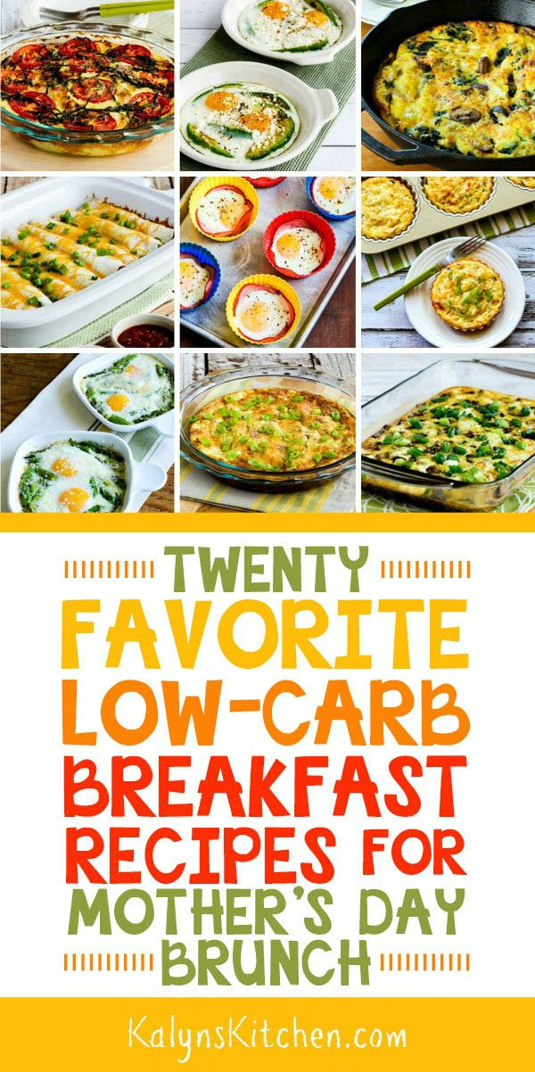 Twenty Favorite Low Carb Breakfast Recipes With Images Brunch