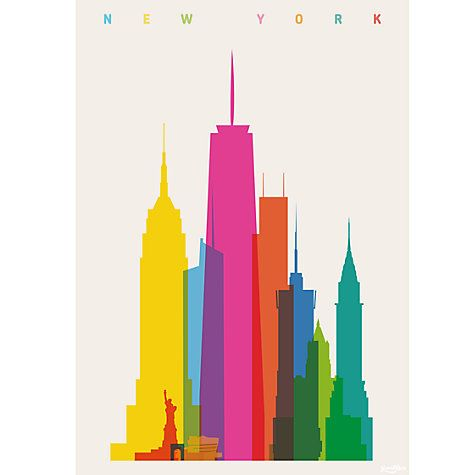 House by John Lewis, Yoni Alter New York Unframed Print #ColourByDesign #HomeEdit
