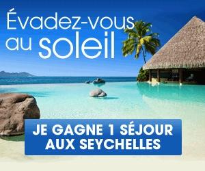 Gagner-Des-Voyages.com    1 séjour pour 2 personnes aux #Seychelles à gagner (valeur 6500 €)