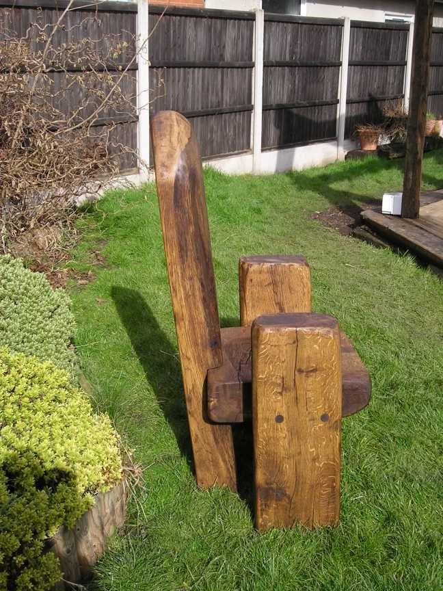 Paul's railway sleepers - throne seat 4
