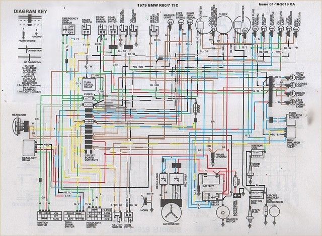 bmw r80 wiring diagram | diagram, bmw k100, coding  pinterest
