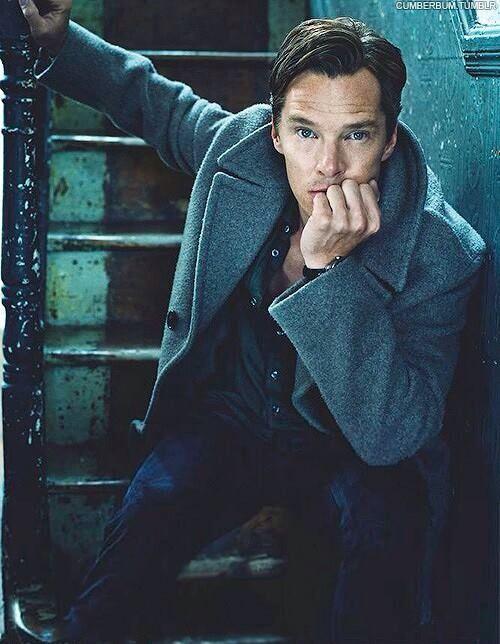 Benedict Cumberbatch for Elle Magazine