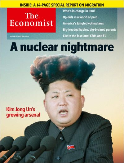 This week our cover features North Korea's nuclear threat. While the world has focused on Iran, Kim Jong Un, the country's hereditary dictator, has been working on missiles and warheads. Sometime during the second term of Barack Obama's successor, he may be able to strike the continental United States