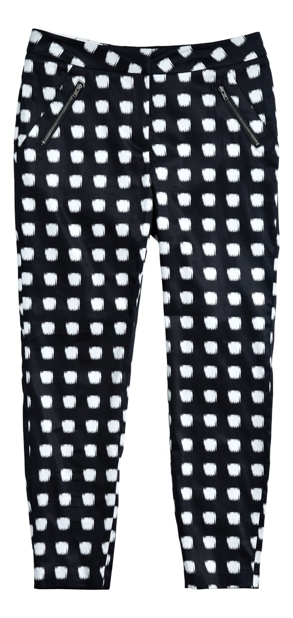 Tuxedo Pant from Portmans. #monochrome is trending at Westfield New Zealand. Follow us on Pinterest, repin your favourite item and go in the draw to win* a Westfield Gift Card.