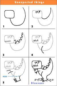 Draw a Dinosaur quick draw