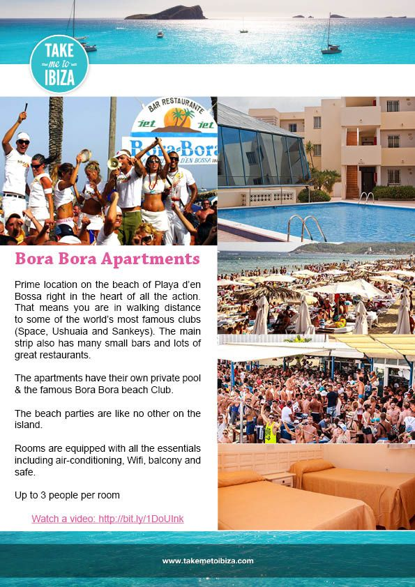We pride ourselves on offering you the very best experience so we have only selected the very best hotels. We have an option for every budget.   Hotels are great to make friends if you are travelling solo or with a small group of friends; the pool parties are out of this world!   Don't see a hotel you want to stay at here? Just let us know and we can organise it all for you.  Not sure what area to stay in? Just let us know we can talk about Ibiza until the sun rises.