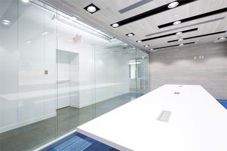 Spacious and bright Artopex conference room.