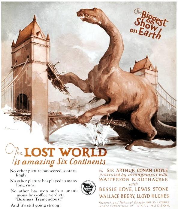 The Lost World colour ad