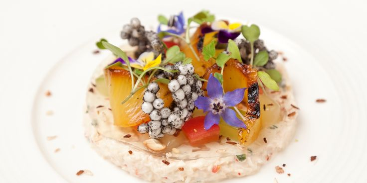 This visually stunning dish from chef Richard Davies sings with a host of carefully balanced flavours, from fragrant coriander to sweet pineapple