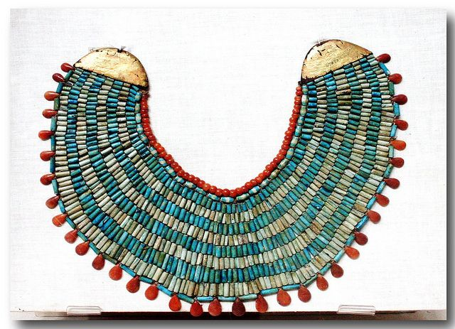 Ancient Egyptian necklace - Egyptian Museum, Cairo