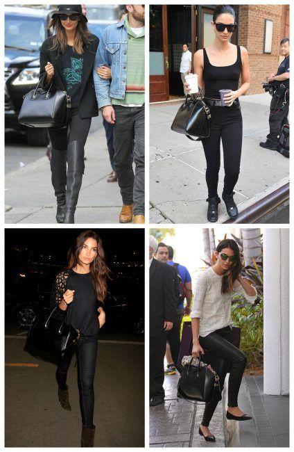Star con la nuova borsa Antigona di Givenchy