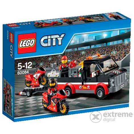 LEGO® City Versenymotor-szállító kamion 60084