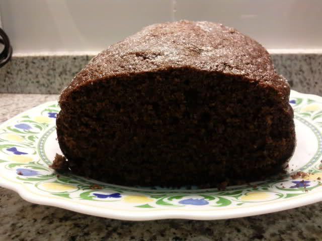 La cocina de bruja_69: Bizcocho integral de chocolate, Panificadora