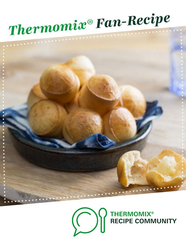 Brazilian cheese puffs by Thermomix in Australia. A Thermomix <sup>®</sup> recipe in the category Baking - savoury on www.recipecommunity.com.au, the Thermomix <sup>®</sup> Community.