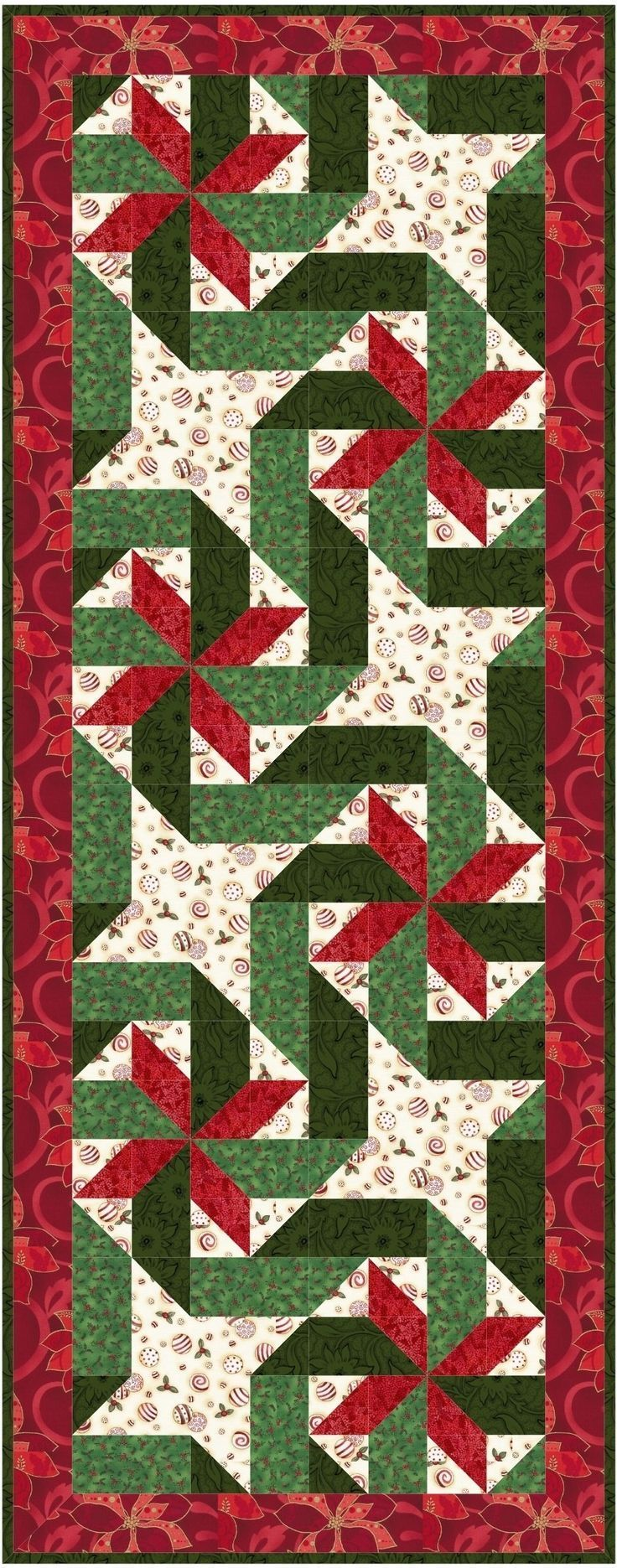 Christmas Quilted Placemats