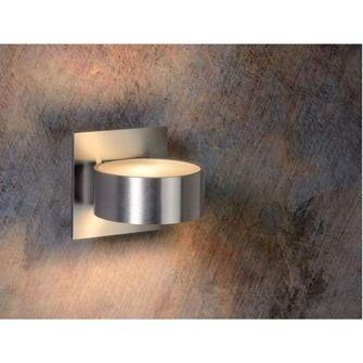 Lucide wandspot bok rond aluminium | Wandlampen | Verlichting | KARWEI