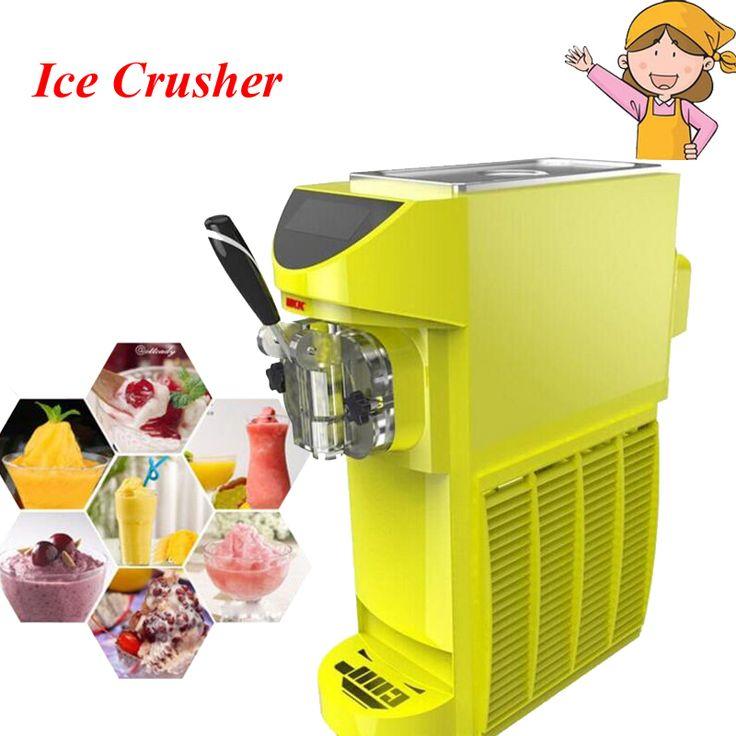 Photosynthetic Commercial Household Small Single Head Ice Maker Desktop Ice Cream Making Machine MKK-4800