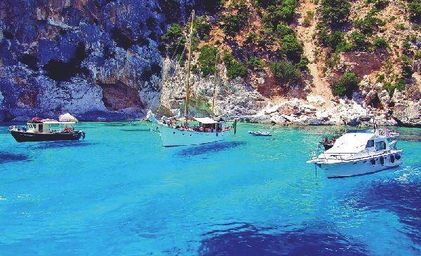 Boats Sardinia, Italy, Europe via VIVA