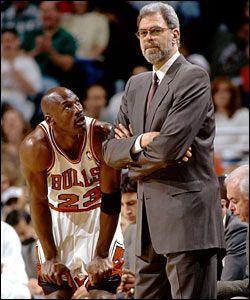 Phil Jackson has a gift for getting a bunch of EGOs uniting and expressing the art of athletic performance as ONE.