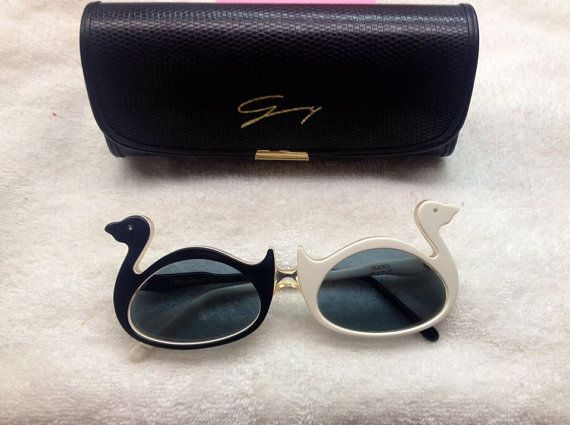 Oliver Goldsmith Ducks vintage sunglasses by AwesomePowerss